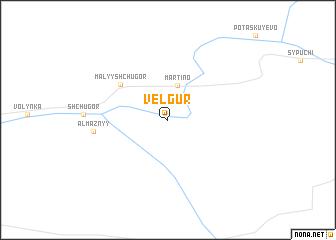 map of Velgur