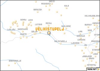 map of Veliki Štupelj