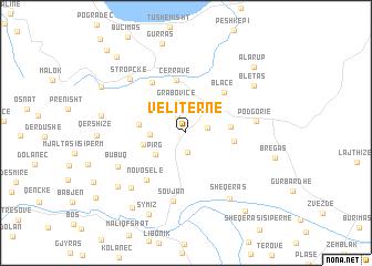 map of Veliternë