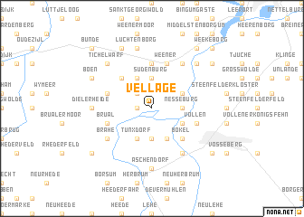 map of Vellage