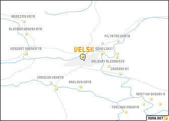 map of Vel\