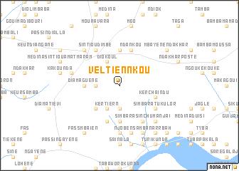 map of Veltiennkou
