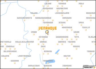 map of Vénahoué