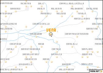 map of Vena