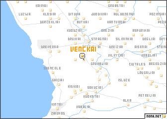map of Venckai