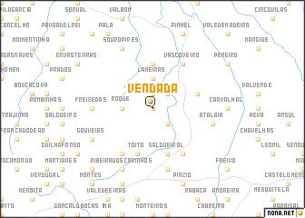 map of Vendada