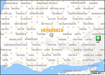 map of Venda Seca