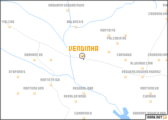 map of Vendinha