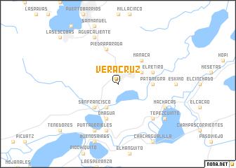 Veracruz Guatemala map nonanet