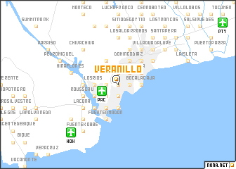 map of Veranillo