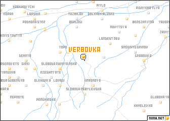 map of Verbovka