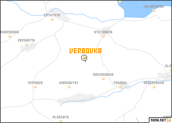 map of Verbovka