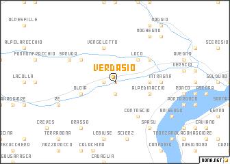 map of Verdasio