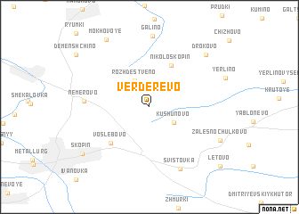 map of Verderevo