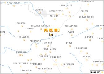map of Verdino