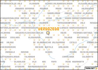 map of Verdozedo