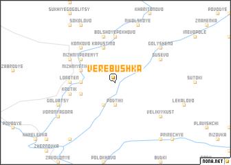 map of Verëbushka