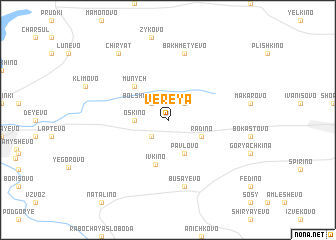 map of Vereya