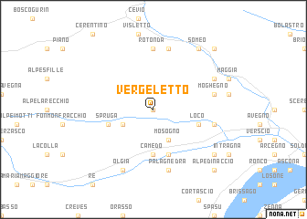 map of Vergeletto