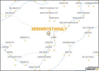 map of Verkhniye Tikkuly