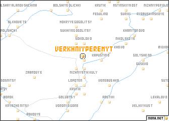map of Verkhniy Peremyt