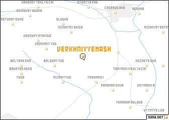 map of Verkhniy Yemash