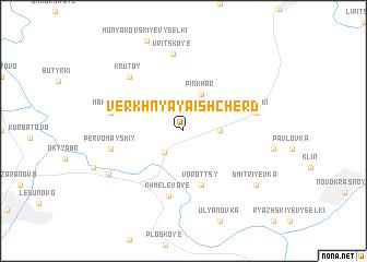 map of Verkhnyaya Ishcherd\