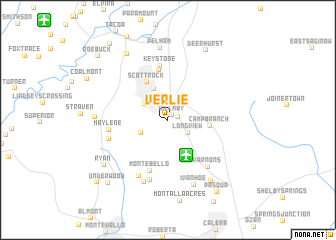 map of Verlie