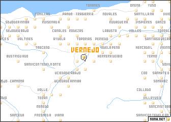 map of Vernejo