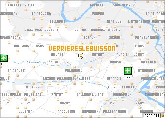 map of Verrières-le-Buisson