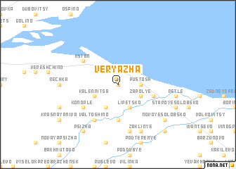 map of Veryazha