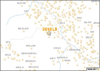 map of Vesela
