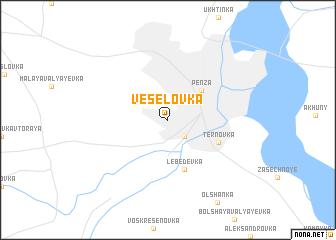 map of Veselovka