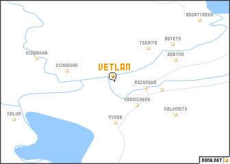 map of Vetlan