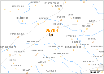 map of Veyna