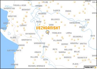 map of Vezhdanisht