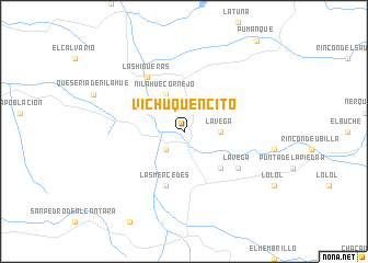 map of Vichuquencito