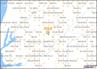 map of Vide
