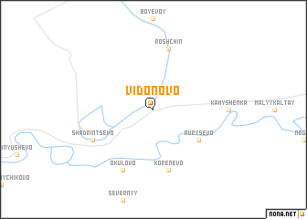 map of Vidonovo
