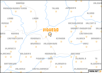 map of Viduedo