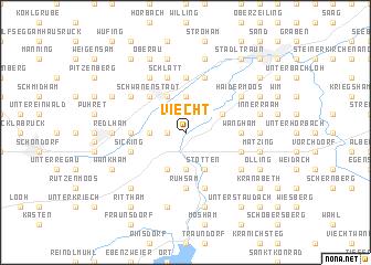 map of Viecht