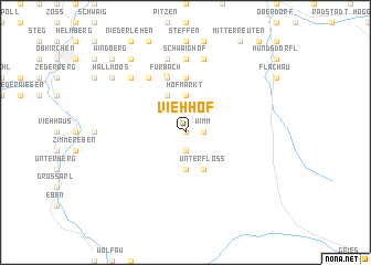 map of Viehhof