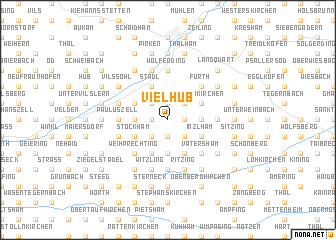 map of Vielhub
