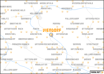 map of Viendorf