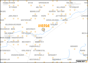 map of Vierde