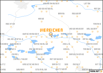 map of Viereichen