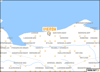 map of Vierow