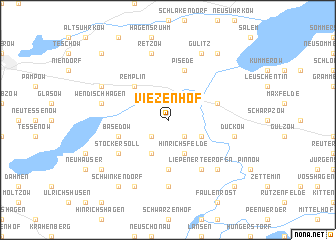 map of Viezenhof