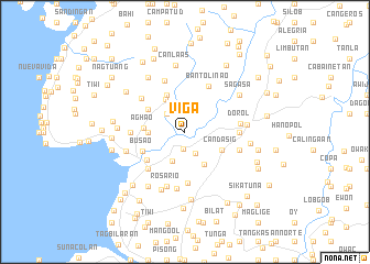 map of Viga