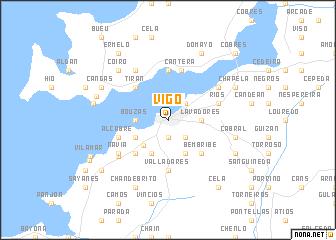 Vigo Spain Map Nona Net